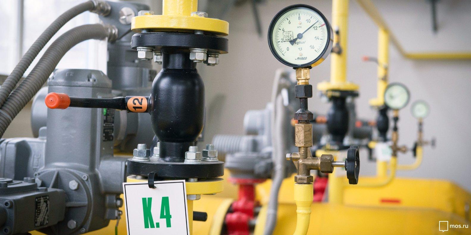 В Левобережном пройдет реконструкция газопровода. Фото:  mos.ru