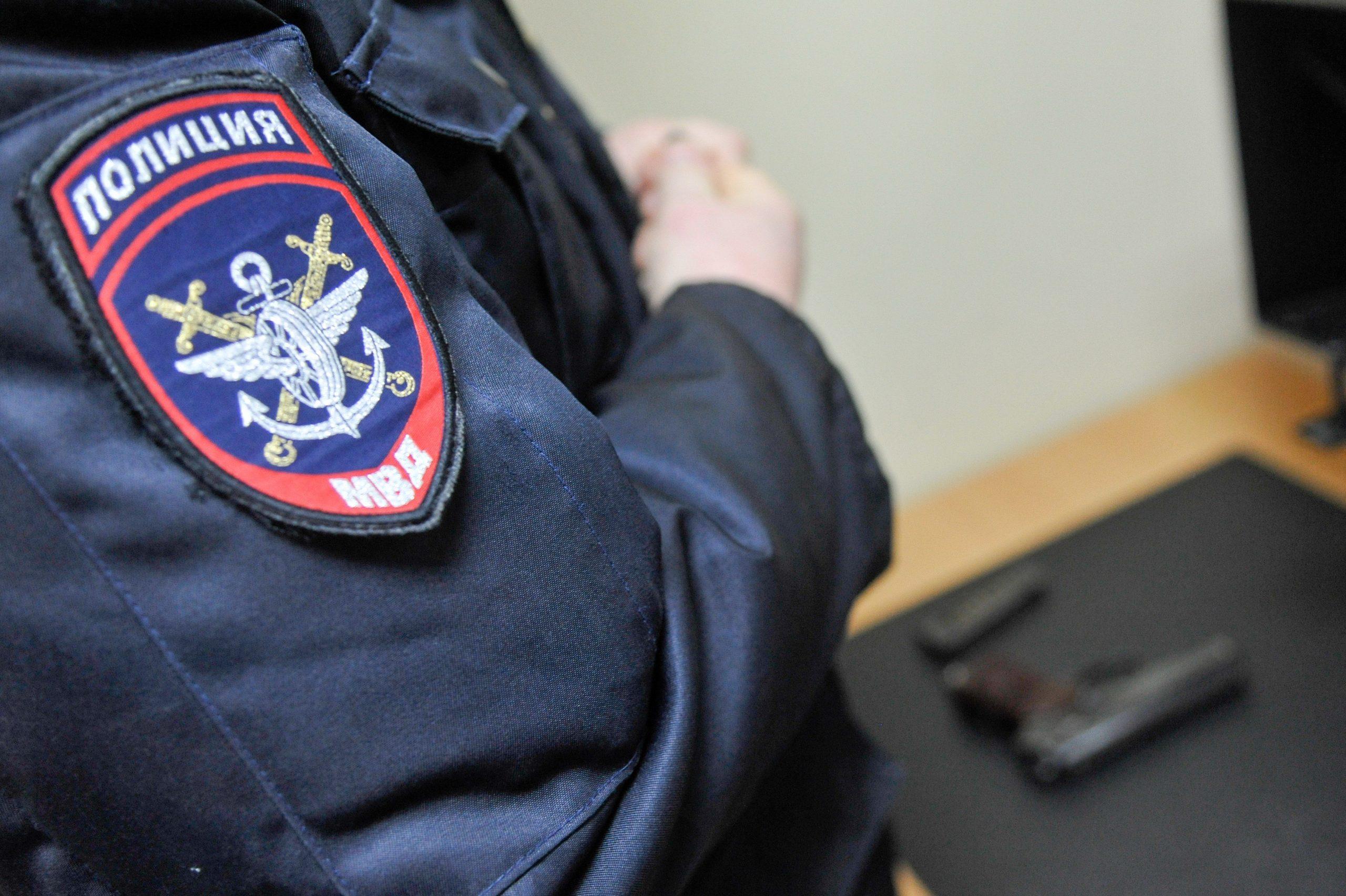 Полицейские задержали продавца с поддельной медкнижкой на Ленинградском шоссе. Фото: АГН «Москва»