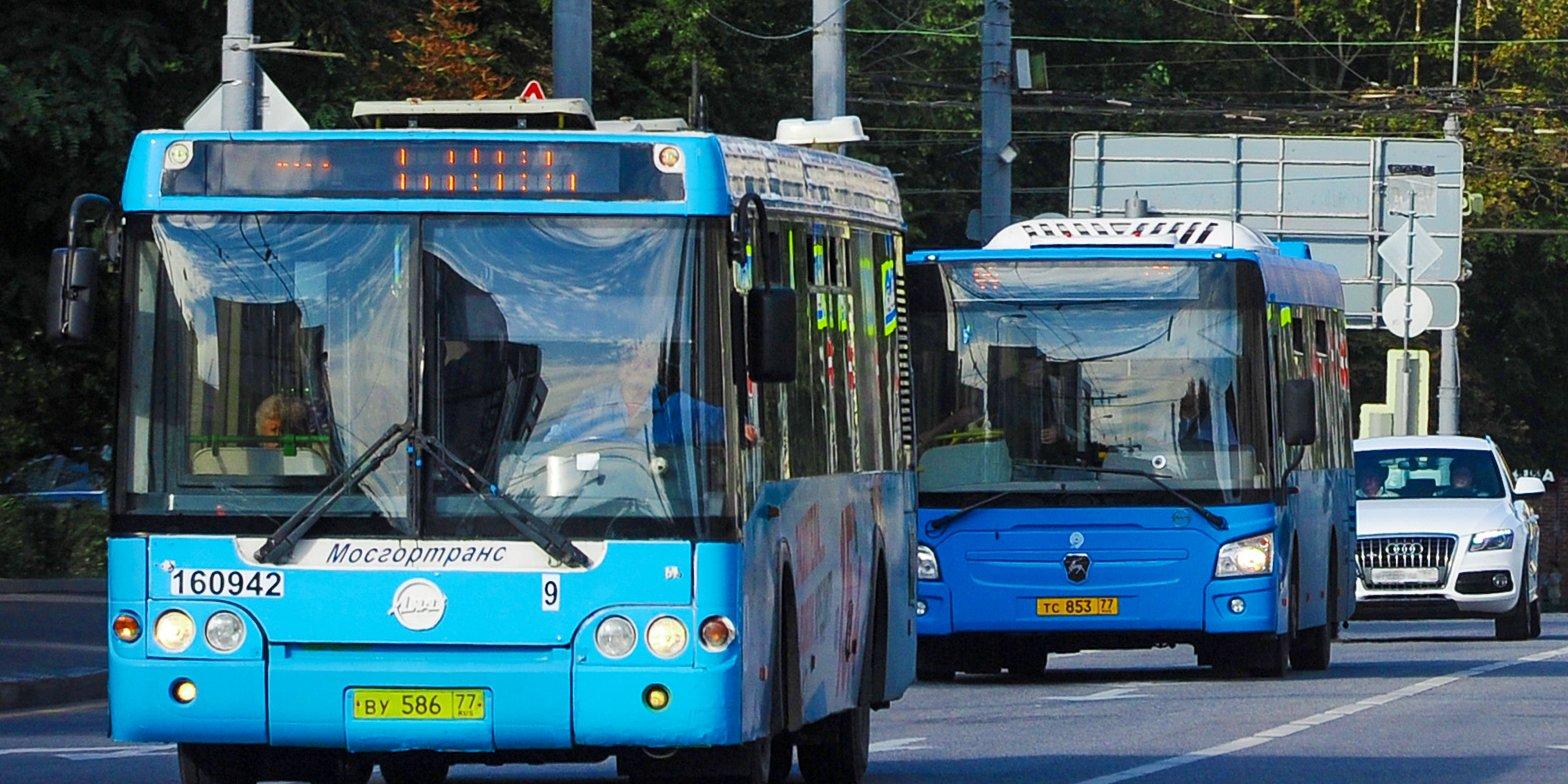 Большие автобусы запустят на двух маршрутах в Левобережном. Фото:  mos.ru